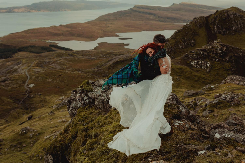 isle of skye elopement session wedding photographer scotland the storr fotograf ślubny szkocja edinburgh wyspa