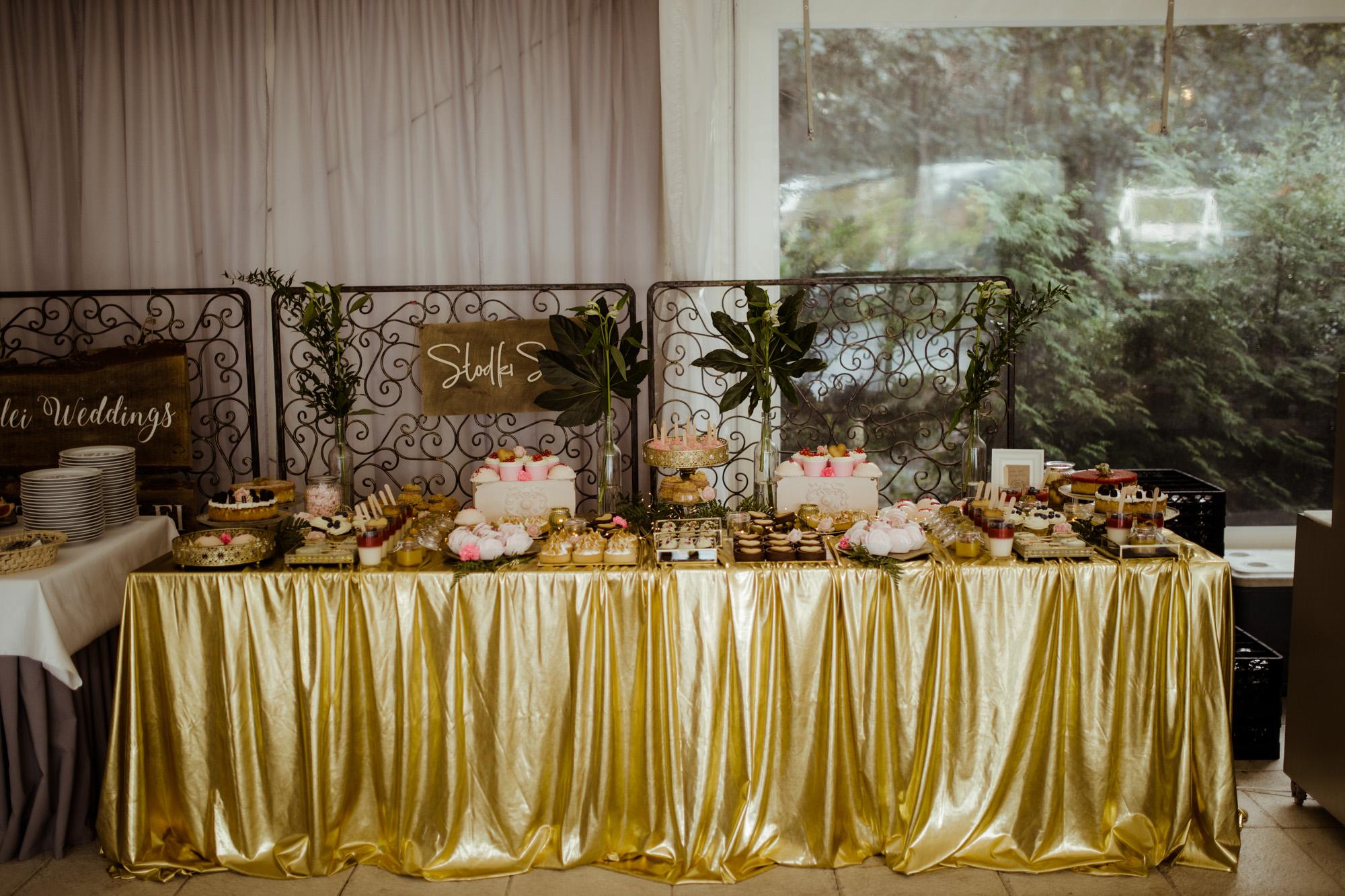 słodki stół poznań cukiernia boho wesele rezydencja solei